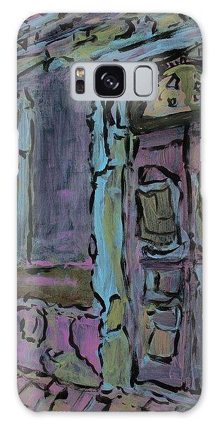 Lilac House  Galaxy Case