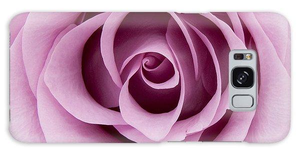 Lilac Rose Galaxy Case
