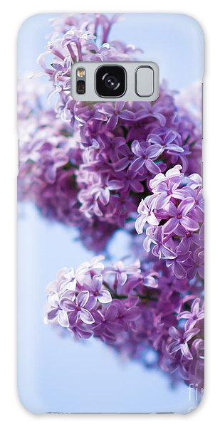 Lilac Galaxy Case by Sergey Simanovsky