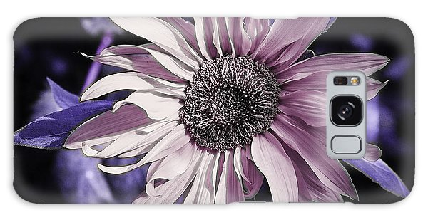 Lilac Sunflower Galaxy Case by Michael Canning