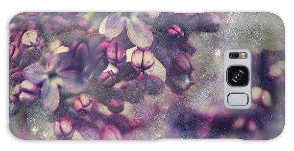 Lilac Galaxy Case by Yulia Kazansky
