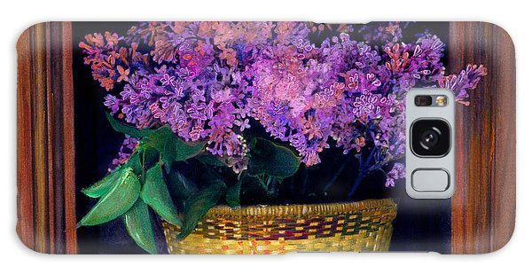 Lilacs Framed Galaxy Case