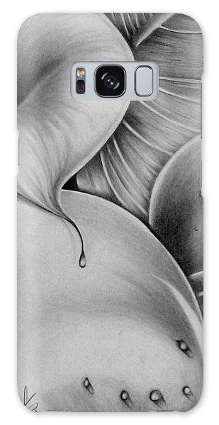 Lilies 3 Galaxy Case