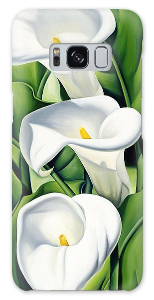 Lily Galaxy Case - Lilies by Catherine Abel