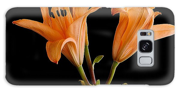 Lilium Flowers Galaxy Case
