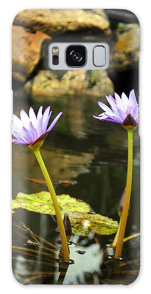 Lillies Of The Pond Galaxy Case
