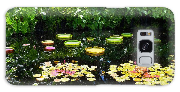 Sea Lily Galaxy Case - Lilly Garden by Carey Chen