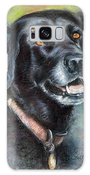 Lily- Black Labrador Retriever Galaxy Case by Sciandra