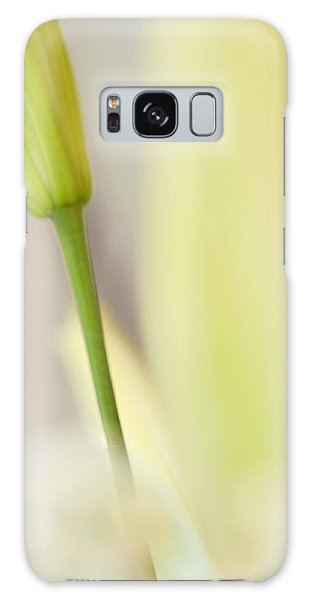 Lily Delight. Floral Abstract Galaxy Case by Jenny Rainbow