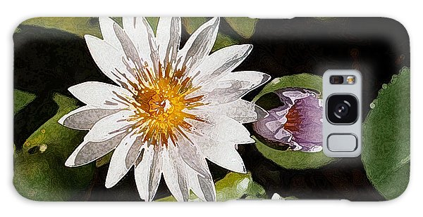 Lily Flowers Galaxy Case