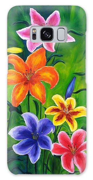 Lily Garden Galaxy Case