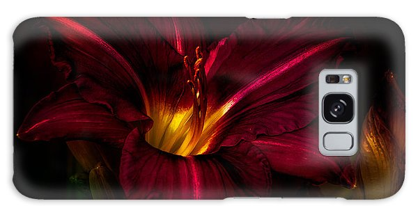 Lily Number Nine Galaxy Case by Bob Orsillo