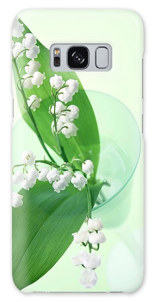 Vase Of Flowers Galaxy Case - Lily Of The Valley (convallaria Majalis) by Erika Craddock/science Photo Library