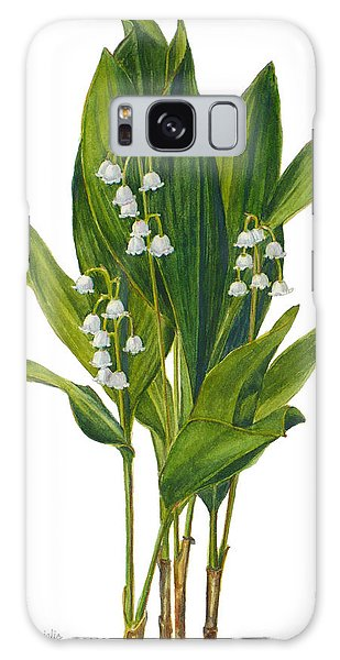 Lily Of The Valley - Convallaria Majalis Galaxy Case