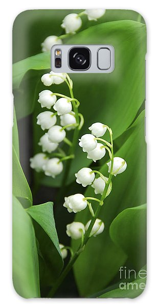 Lily-of-the-valley  Galaxy Case