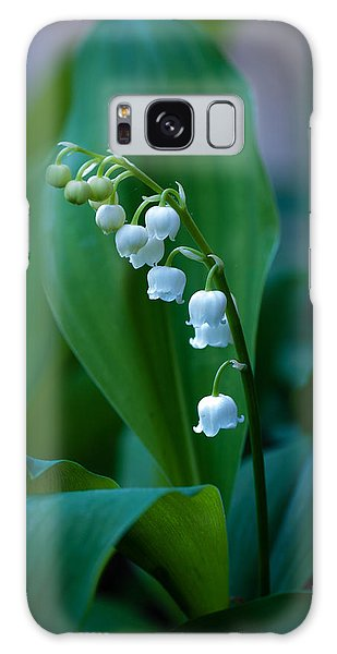 Lily Of The Valley Galaxy Case by Wayne Meyer