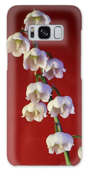 Lily Of The Vallley Galaxy Case