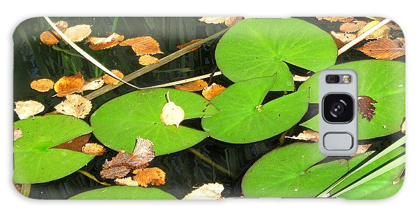 Lily Pads Galaxy Case by Mary Bedy