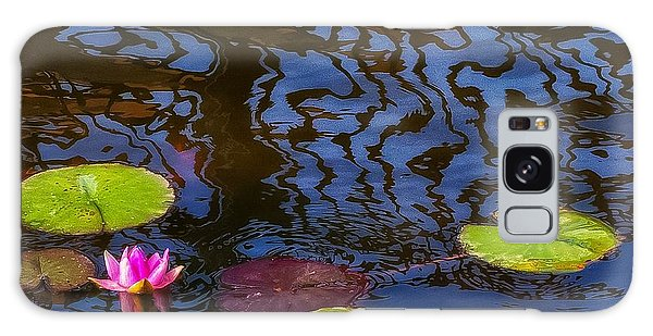 Lily Pond Abstract A Study In Patterns Galaxy Case