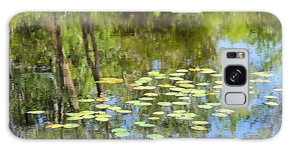 Lily Pond Galaxy Case