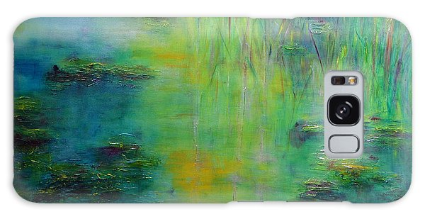Lily Pond Tribute To Monet Galaxy Case