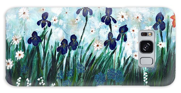 Lily's Garden Galaxy Case by David Dossett
