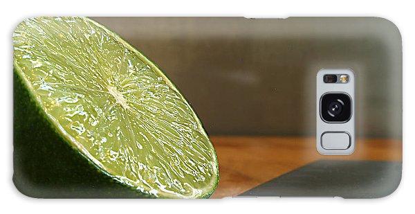 Lime Blade Galaxy Case by Joe Schofield
