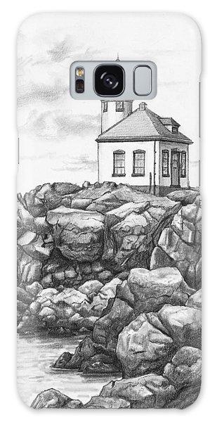 Lime Kiln Lighthouse Galaxy Case