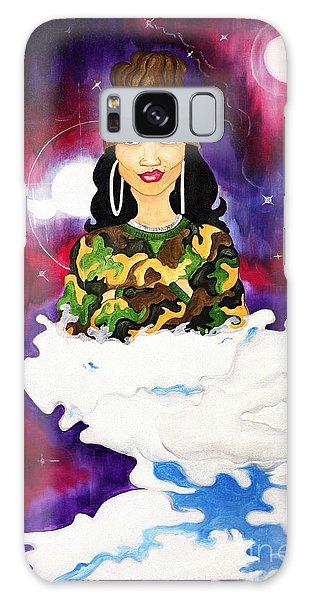 Galaxy Case featuring the painting Limitless by Aliya Michelle