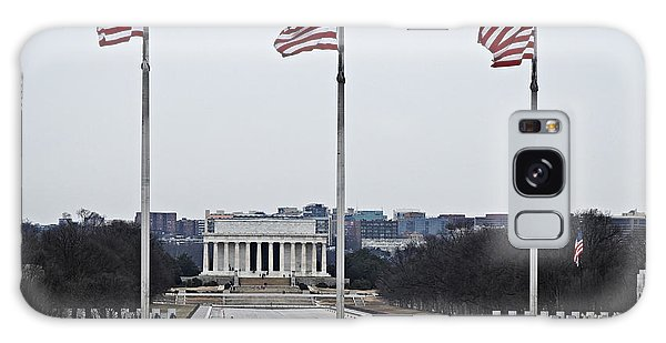 Lincoln And Wwii Monuments 1 Galaxy Case