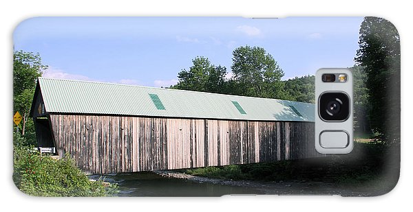 Lincoln Covered Bridge Galaxy Case