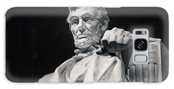 Lincoln Memorial Galaxy S8 Case - Lincoln by Joan Carroll