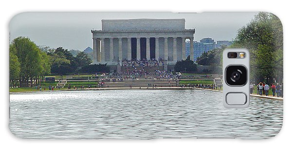 Lincoln Memorial 1 Galaxy Case