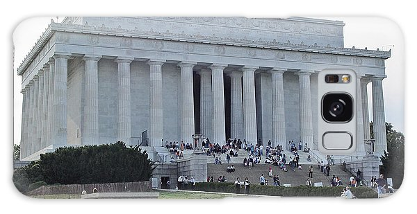 Lincoln Memorial 2 Galaxy Case