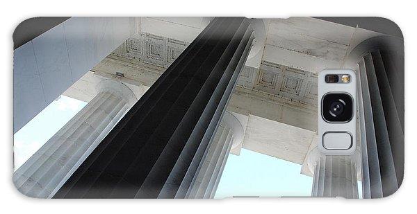 Lincoln Memorial Columns Galaxy Case