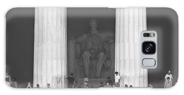 National Monument Galaxy Case - Lincoln Memorial - Washington Dc by Mike McGlothlen