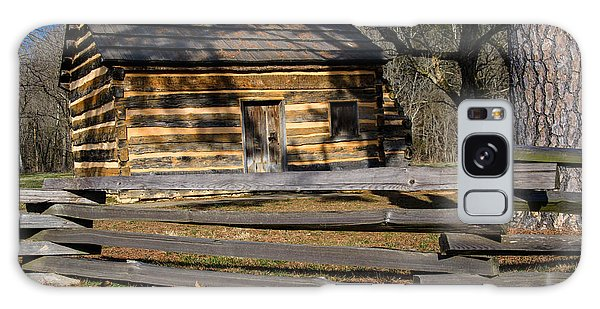 Lincoln's Boyhood Home Galaxy Case by Mark Bowmer