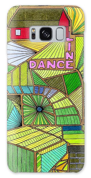 Line Dance Galaxy Case