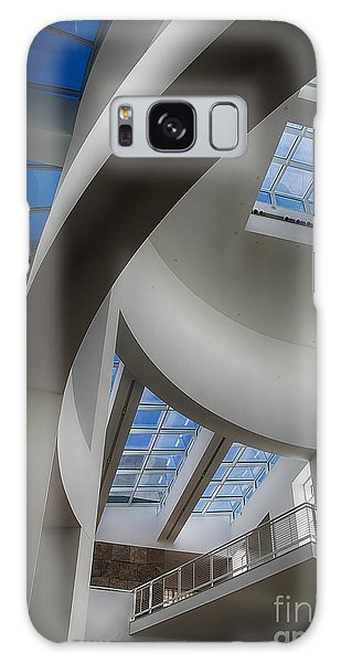 Lines And Curves Galaxy Case by Anne Rodkin
