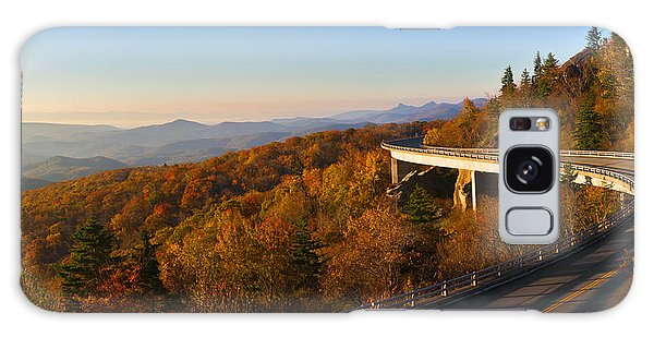 Linn Cove Viaduct Galaxy Case