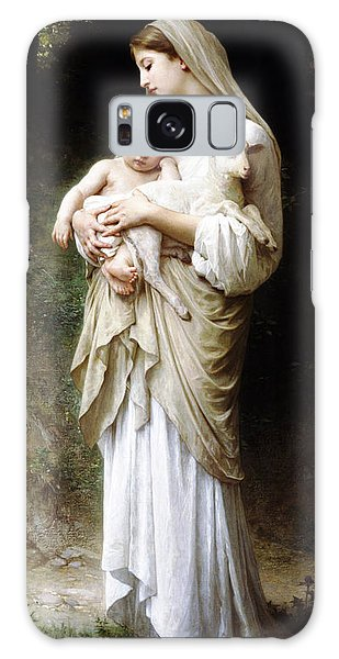 L'innocence By Bouguereau Galaxy Case by Bouguereau