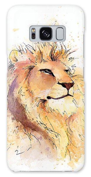 Lion 3 Galaxy Case