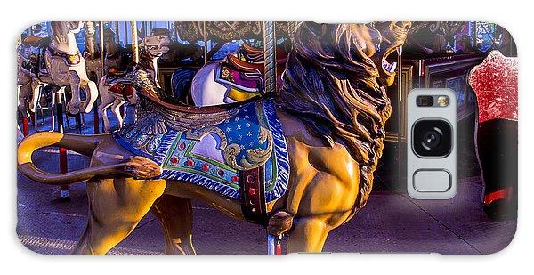 County Fair Galaxy Case - Lion Carrousel  by Garry Gay