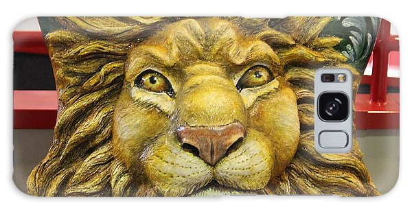 Lion Face Guitar Galaxy Case by Cynthia Snyder