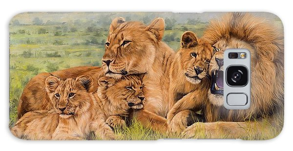 Lion Family Galaxy Case
