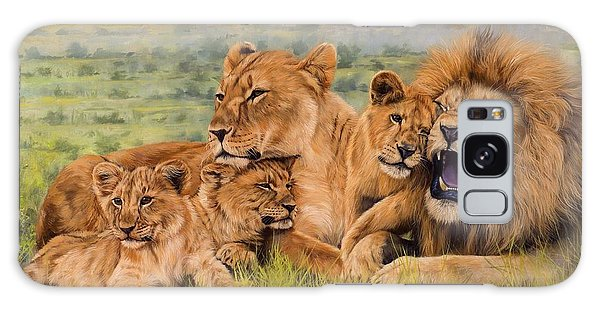 Lion Family Galaxy Case
