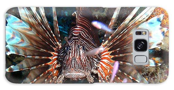 Lion Fish - En Garde Galaxy Case by Amy McDaniel