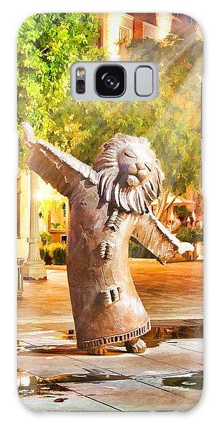 Lion Fountain Galaxy Case
