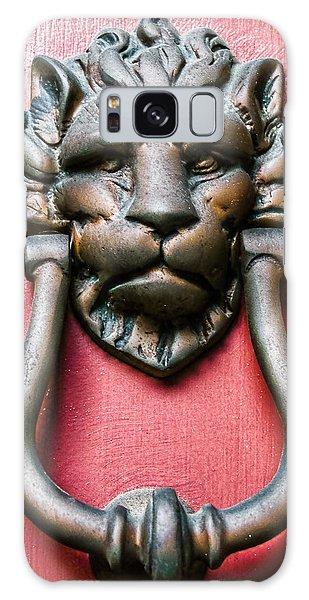 Lion Head Door Knocker Galaxy Case