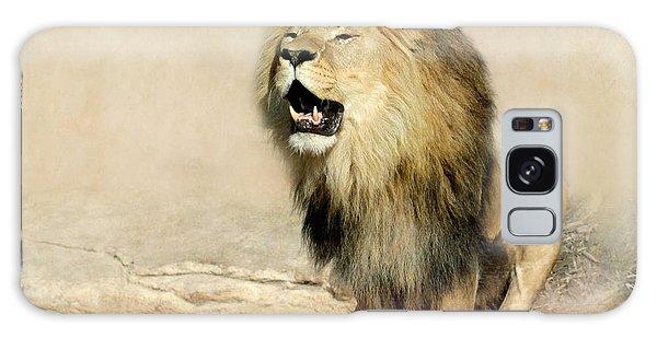 Lion Galaxy Case by Heike Hultsch